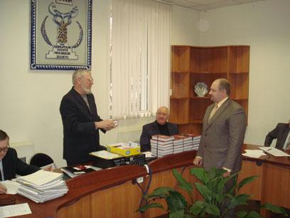 награждение Мудрецова А.В. медалью
